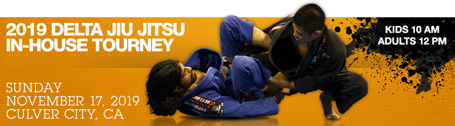 Delta Jiu Jitsu In-House Tournament : Gi Registration